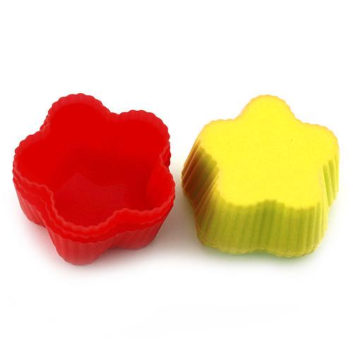 Pečící forma Smart cook silikonová červeno-žlutá