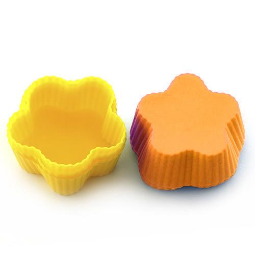 Pečící forma Smart cook silikonová oranžovo-žlutá
