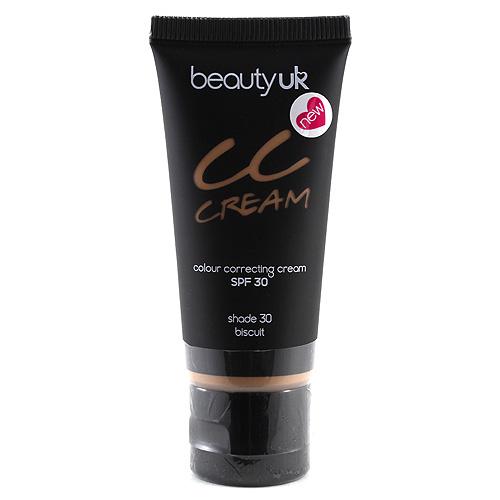 Beauty UK Tónovací krém odstín 30 biscuit, 25ml