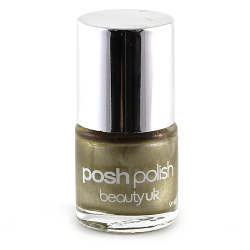 Beauty UK Lak na nehty gold foil, 9ml