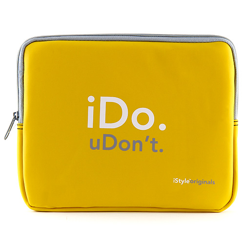 "iStyle Originals Pouzdro na tablet 10.1"" iDo. uDon´t."
