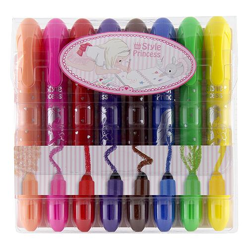 Voskovky My Style Princess gelové, 8 barev