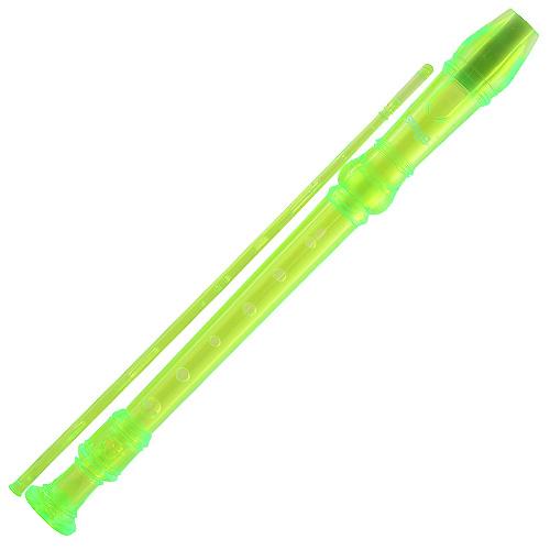 Zobcová flétna Stagg zelená
