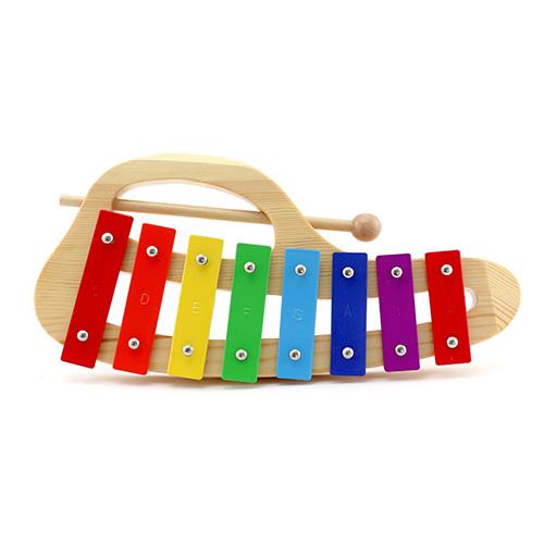 Metalofon Stagg oválný, 8 barevných kamenů