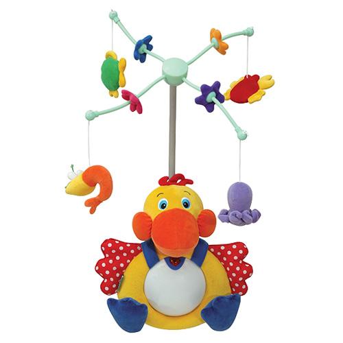 Elektrický kolotoč K´s Kids elektrický se zvuky, s motivem pelikána