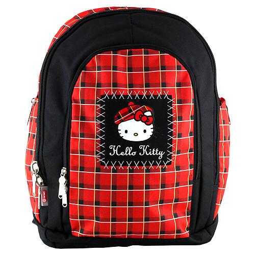 Školní batoh Hello Kitty červeno-černý. DOPRAVA ZDARMA fd2899dfa4