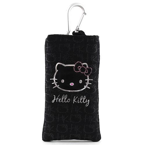 Pouzdro na mobil Hello Kitty černé