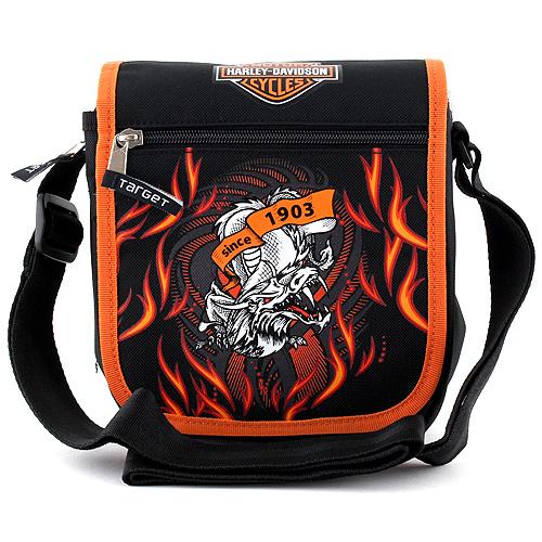 Taška do města Harley Davidson motiv draka