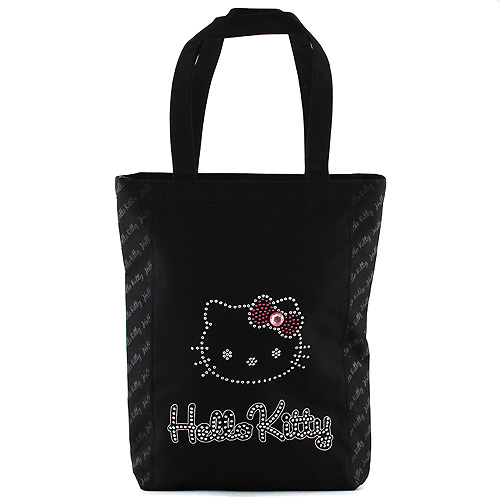 Nákupní taška Hello Kitty černá