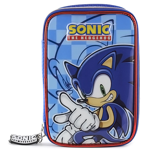 Školní penál s náplní Sonic
