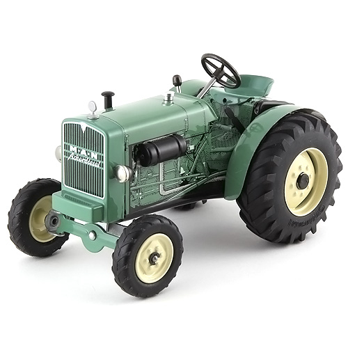 Traktor Kovap plechový, zelený