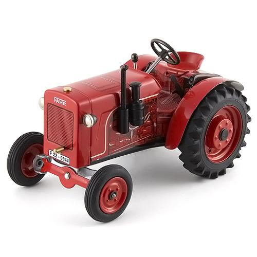 Traktor Kovap plechový, červený