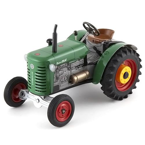 Kovap Traktor Zetor plechový, zelený