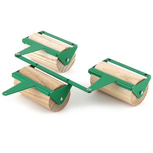 Dřevěné válce Kovap s plechovou konstrukcí