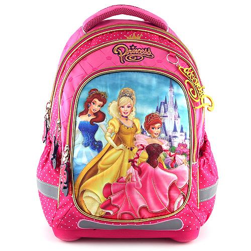 Školní batoh Princess s princeznami