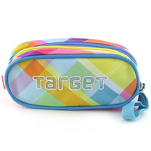 Školní penál Target Pastelové barevné kostky