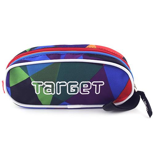 Školní penál Target Sytě barevné tvary