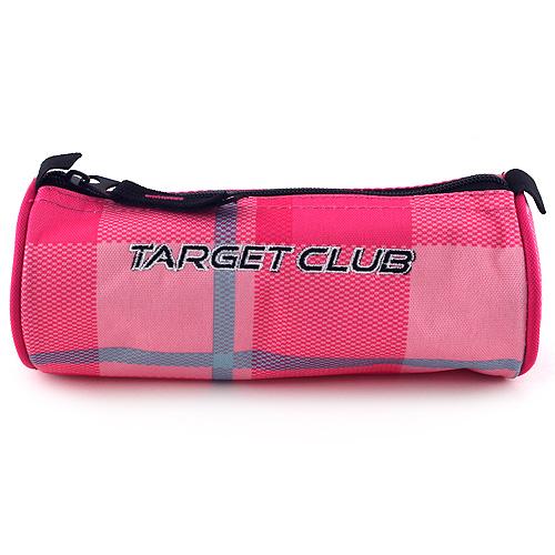 Školní penál Target Růžové kostky