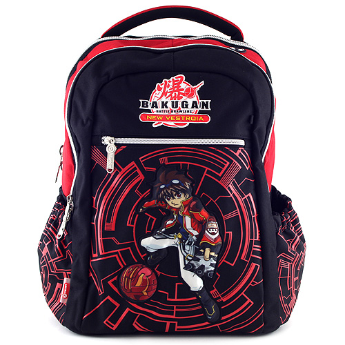 Školní batoh Bakugan černo-červený