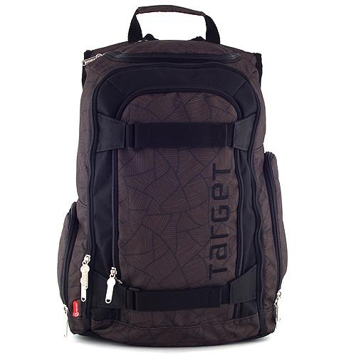 Sportovní batoh Target hnědý