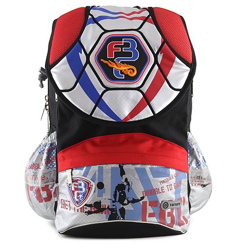 Target Školní batoh Fotbal černo-červená