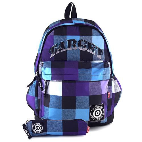 Batoh Target fialovo-modrý