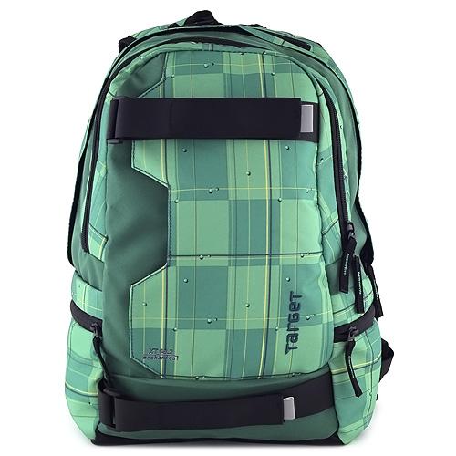 Target Sportovní batoh zeleno-žlutý