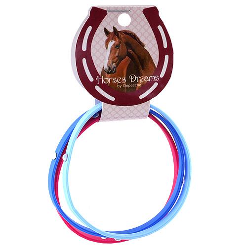 Náramky Horses Dreams tmavě modrá, růžová, modrá