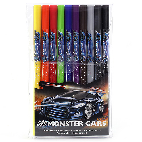 Fixy Monster Cars 10 barev