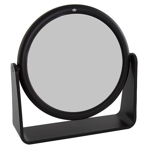 Kosmetické zrcadlo Elite Models kulaté, 17cm, černé