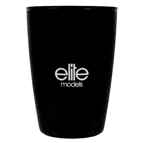 Kelímek do koupelny Elite Models plastový, černý