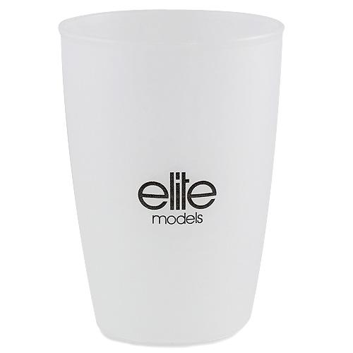 Kelímek do koupelny Elite Models plastový, bílý