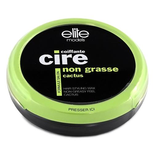 Vosk na vlasy Elite Models bez mastného efektu, kaktus, 40g