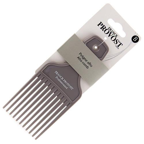 Hřeben afro Franck Provost plastový, šedý