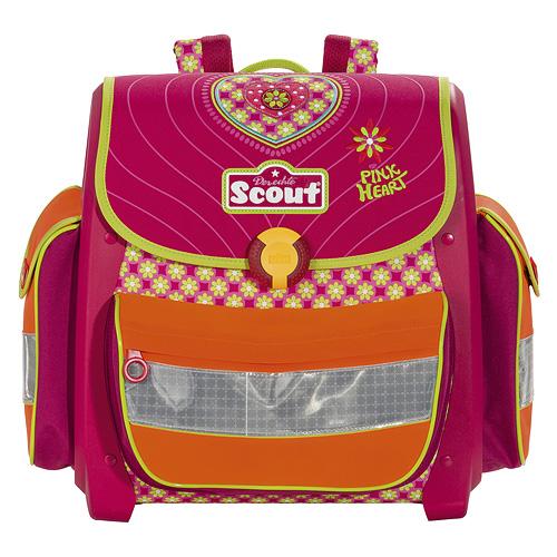 Školní aktovka Scout motiv srdce, Basic