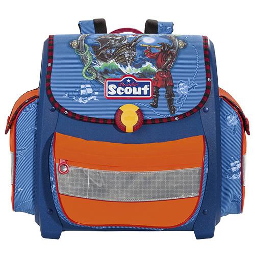 Školní aktovka Scout motiv lodě, Basic