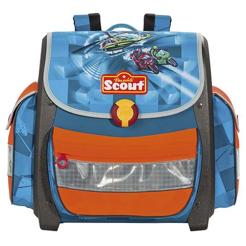 Fotografie Školní aktovka Scout motiv vrtulník, Basic
