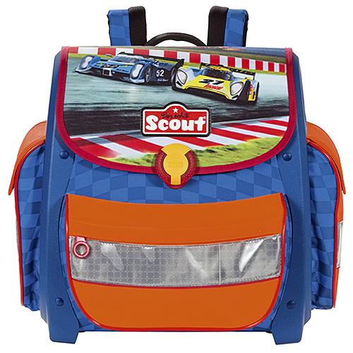 Školní aktovka Scout motiv závod, Basic