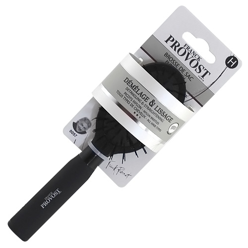 Kartáč rozčesávací Franck Provost nylonový, černý