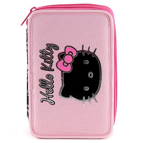 Hello Kitty Školní penál s náplní dvoupatrový