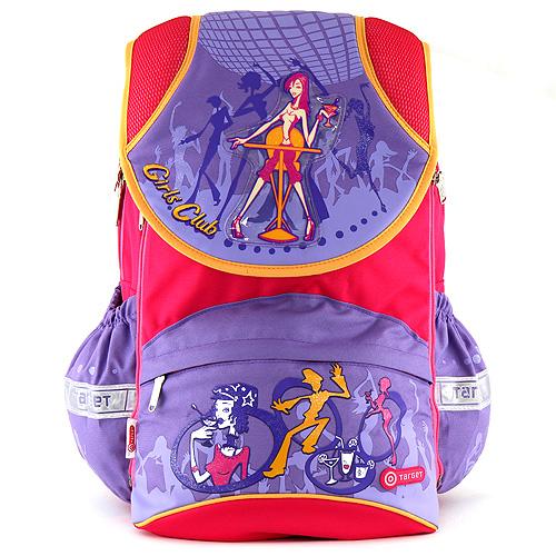 Školní batoh Target motiv girls club