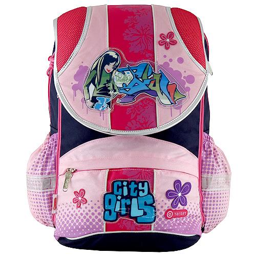 Školní batoh Target motiv city girls