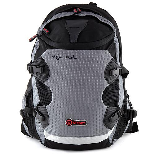 Batoh na notebook Target na notebook, šedo-černý