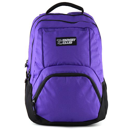 Studentský batoh Target fialovo-černý