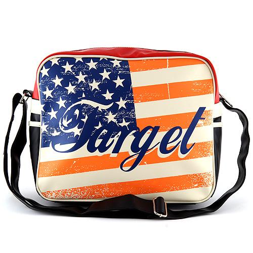 Taška přes rameno Target motiv vlajky USA
