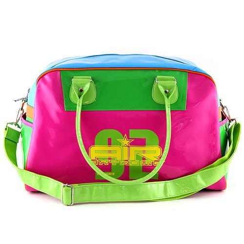 Cestovní taška Target růžovo-modro-zelená