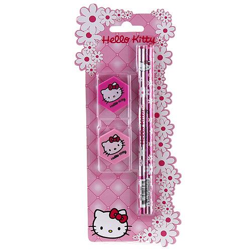 Psací sada Hello Kitty motiv květiny