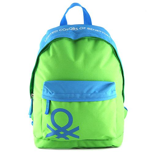 Batoh Benetton modro-zelený