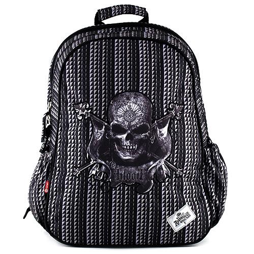 Target Studentský batoh Alchemy Gothic motiv lebka