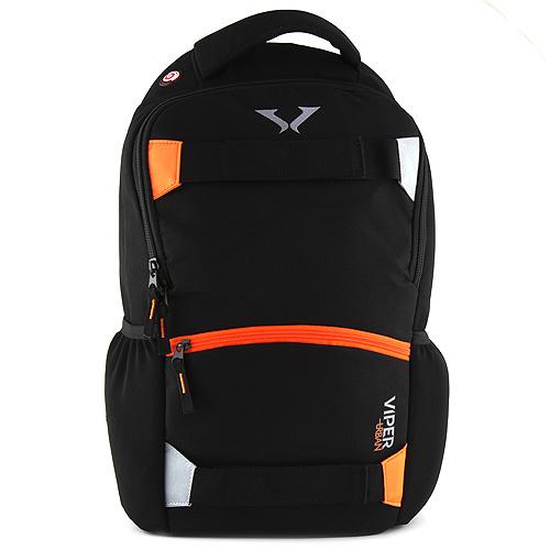 Sportovní batoh Target černo-oranžový zip